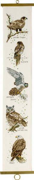 PERMIN 猛禽類 Rovfugle クロスステッチ 刺繍 キット デンマーク ペルミン 35-8130 【DM便対応】