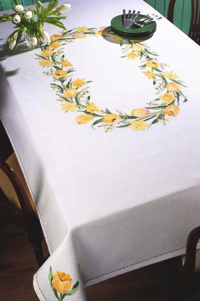 PERMIN 春の露 Spring dew クロスステッチ 刺繍 キット デンマーク ペルミン 58-6175 【送料無料】