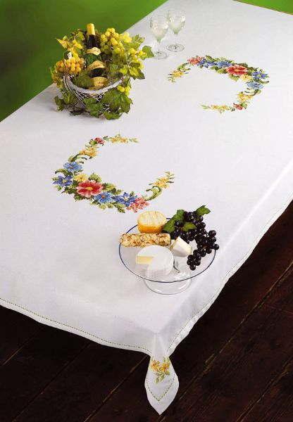 PERMIN 春の花輪 Spring Ranke クロスステッチ 刺繍 キット デンマーク ペルミン 58-2129 【送料無料】