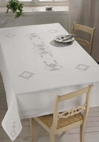 PERMIN ハーダンガーホワイト Hardanger white刺繍 キット デンマーク 北欧 刺しゅう ペルミン 58-3645 【送料無料】