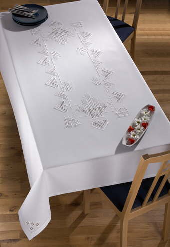 PERMIN ハーダンガー Hardanger 刺繍 キット デンマーク 北欧 刺しゅう ペルミン 58-9610【送料無料】