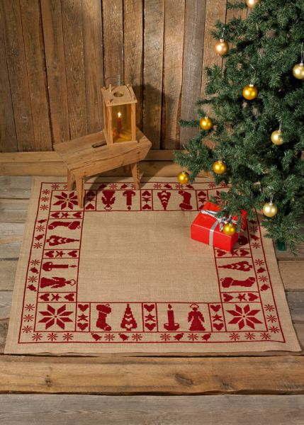 PERMIN クリスマスの約束 Julestemning クロスステッチ 刺繍 キット デンマーク 北欧 刺しゅう ペルミン 45-6224 【送料無料】