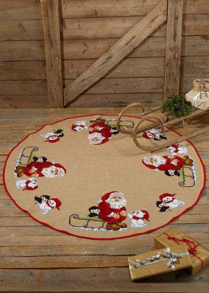 PERMIN ノース・サンタクロース Santa Claus North クロスステッチ 刺繍 キット デンマーク 北欧 刺しゅう ペルミン 45-7269 【送料無料】