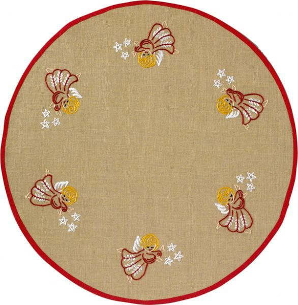 PERMIN クリスマスツリーカーペット Christmas tree Carpet ペルミン 刺繍 キット デンマーク 42-7813 【DM便対応】