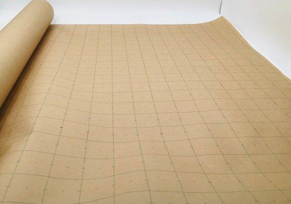 製図用紙 茶 グラフカット型入紙 1600mm×100m×2本 洋裁 日本産 yousai ソーイング 裁縫 ホリウチ sewing 定番キャンバス 手芸