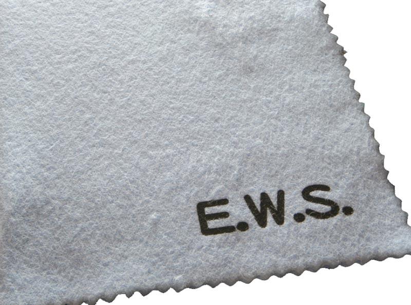 フレットやブリッジなどの金属パーツのサビやくすみにオススメの金属パーツ用クロス PCI 新作からSALEアイテム等お得な商品満載 E.W.S. Engineering Work 送料無料お手入れ要らず CARE POLISHING 金属用 CLOTH Store
