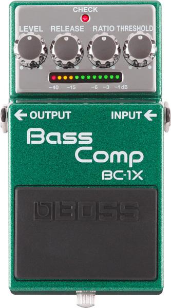 BOSS 《ボス》 BC-1X [Bass Comp] 【期間限定★送料無料】 【IKEBE×BOSSオリジナルデザイン缶クージープレゼント】【ef_p5】