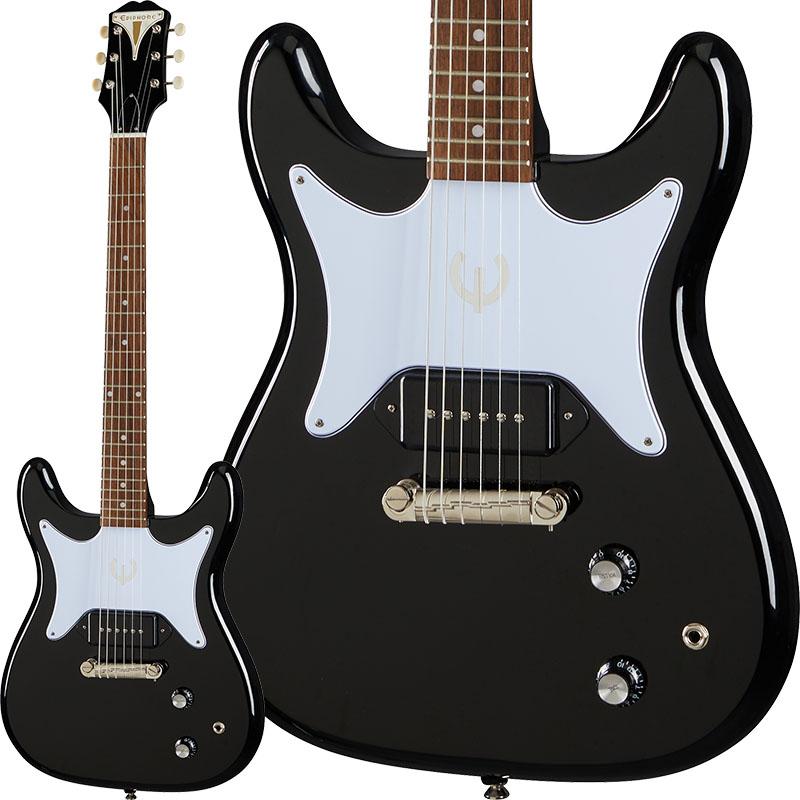 エレキギター Epiphone by Gibson Coronet 売買 国内送料無料 Ebony 《エピフォン》