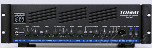 EBS TD660 ベースアンプヘッド
