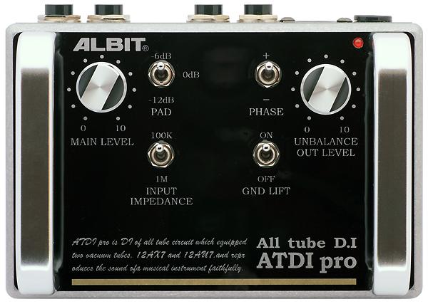 ALBIT 《アルビット》 ATDI pro [ALL TUBE D.I]