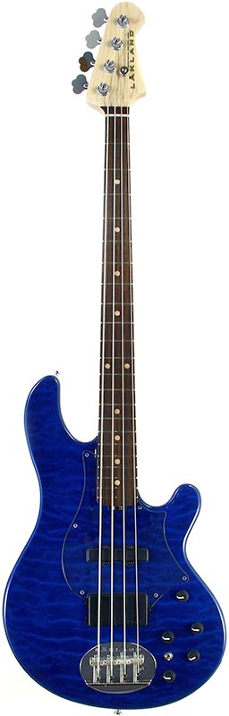 LAKLAND 《レイクランド》 SL4-94 Deluxe (BT/R) w/Clear Pickguard