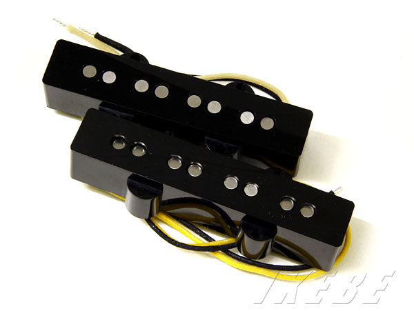 Lollar Pickups 《ローラー・ピックアップ》 Jazz Bass Style Set (Black)