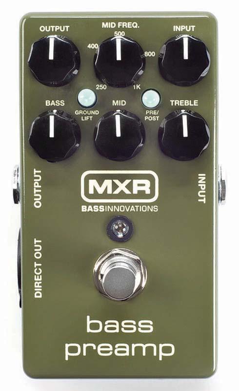 MXR M81 Bass Preamp 【数量限定9Vアダプタープレゼント】