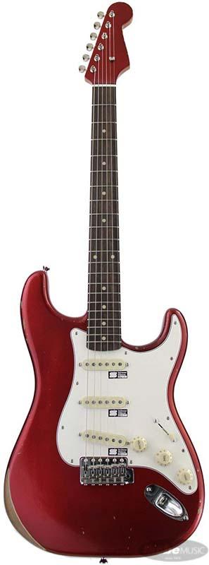 CUSTOM GUITAR E-SE-120R/LT (Candy Apple Red)