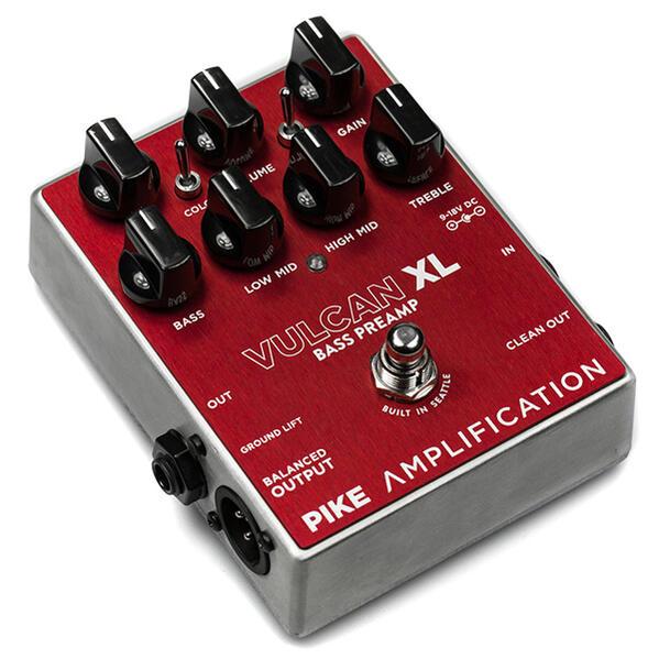 【格安SALEスタート】 Pike Amplification 《パイクアンプリフィケーション》 Vulcan XL Vulcan Amplification -Bass Preamp- Overdrive/ Preamp-, C-スタイル:682fc043 --- clftranspo.dominiotemporario.com