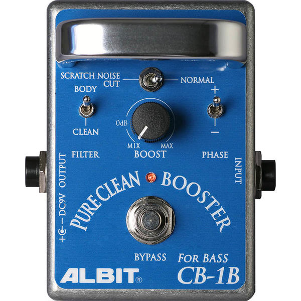 ALBIT 《アルビット》 CB-1B [PURE CLEAN BOOSTER FOR BASS]
