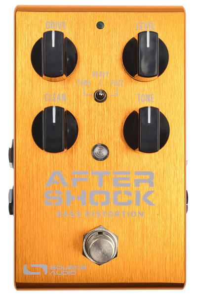 SOURCE AUDIO SA246 AFTERSHOCK BASS DISTORTION