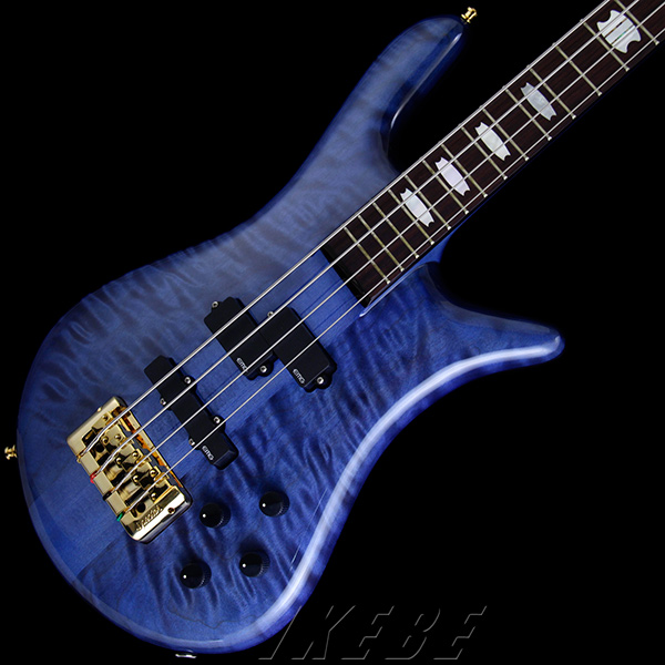 SPECTOR 《スペクター》 Euro 4 LX Premium Wood (Blue Stain Gloss)