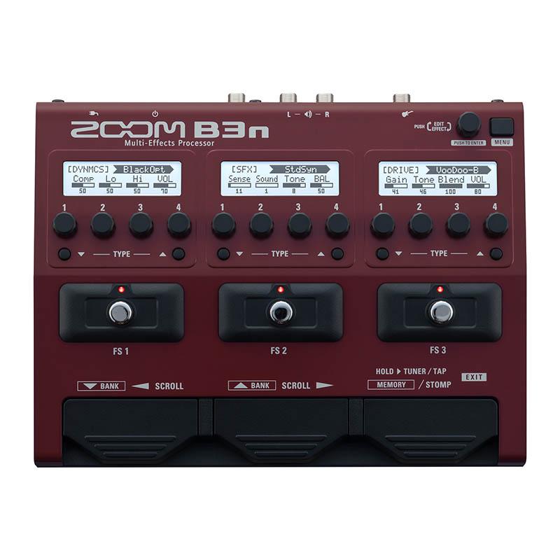 ZOOM 《ズーム》 B3n [Multi-Effects Processor] 【送料無料】 【即納可能】【ef_p5】