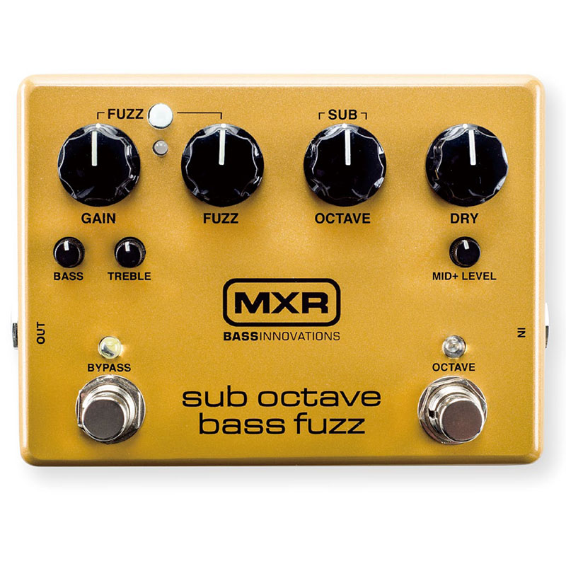 MXR M287 [Sub Octave Bass Fuzz] 【即納可能】