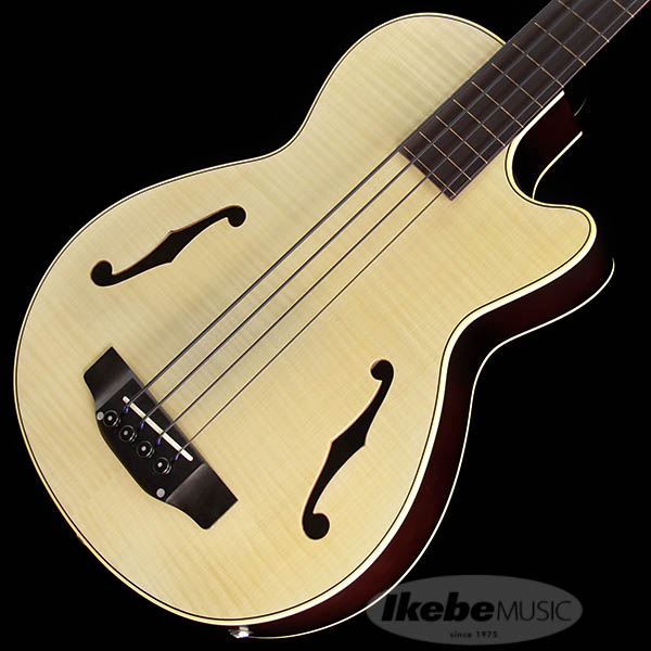 K.Yairi 《K.ヤイリ》 IKB-3 CTM Fretless w/Black Nylon Strings (NAT ※ライン有) [IKEBE Order Model]【次回10月入荷予定】