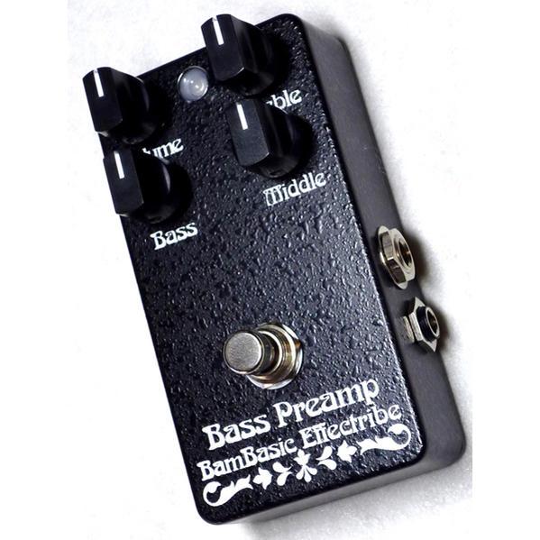 BamBasic 《バンベイシック》 Bass Preamp (Preamp+Equalizer)