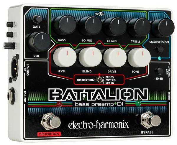 最終決算 Electro Harmonix 《エレクトロ・ハーモニックス》 BATTALION [Bass Preamp Preamp & Electro & DI], マタニティ&ベビーのStampskids:382aeffe --- canoncity.azurewebsites.net