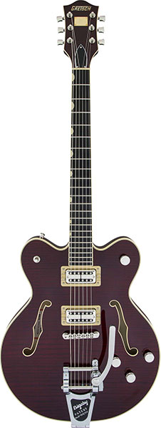 GRETSCH 《グレッチ》 G6609TFM Players Edition Broadkaster Center Block Double-Cut Dark Cherry Stain