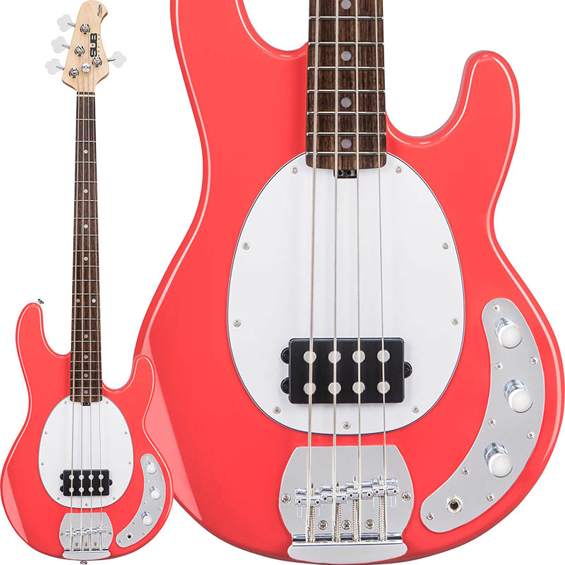 Sterling by MUSIC MAN 《スターリン by ミュージックマン》 S.U.B. Series Ray4 (Fiesta Red)