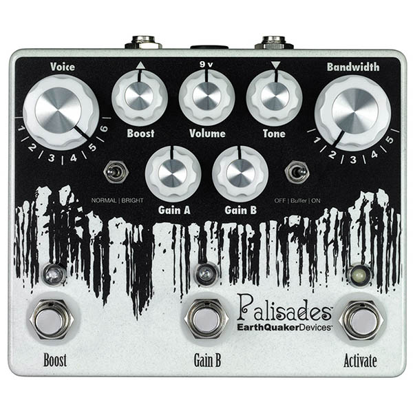 Earth Quaker Devices 《アースクエイカー デバイセス》 Palisades Mega Ultimate Overdrive 【即納可能】