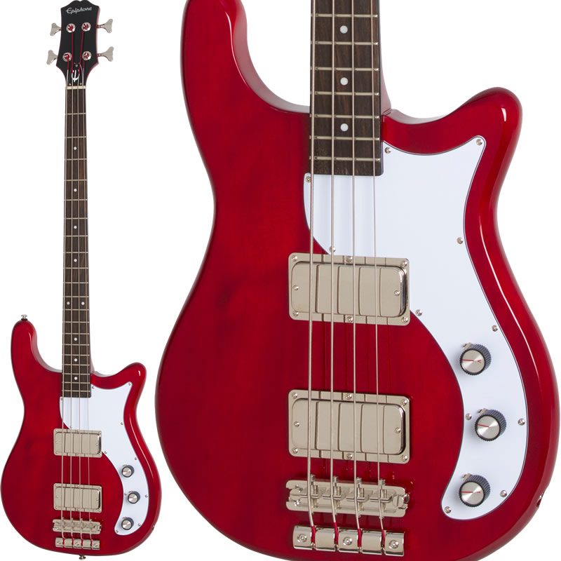 Epiphone by Gibson 《エピフォン》 Embassy PRO Bass (Dark Cherry)
