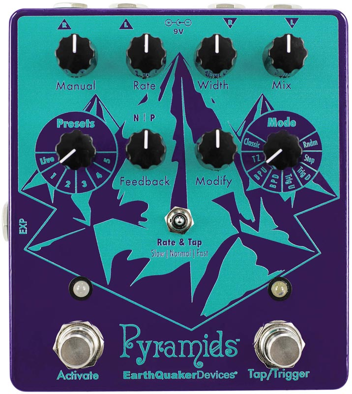Earth Quaker Devices 《アースクエイカー デバイセス》 Pyramids Stereo Flanging Device