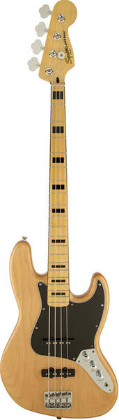 Squier by Fender《スクワイヤーbyフェンダー》 Vintage Modified Jazz Bass 70s (Natural)