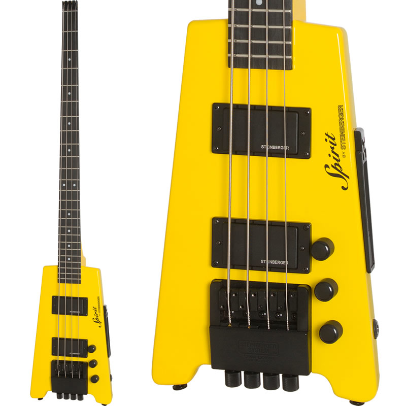 STEINBERGER 《スタインバーガー》 Spirit XT-2 STANDARD Bass (HY/Hot Rod Yellow)
