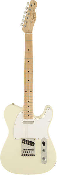 Squier by Fender 《スクワイヤーbyフェンダー》 Affinity Series Telecaster (Arctic White/Maple Fingerboard) 【本数限定超特価!!】