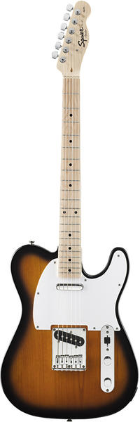 Squier by Fender 《スクワイヤーbyフェンダー》 Affinity Series Telecaster (2-Color Sunburst/Maple Fingerboard)【本数限定超特価!!】