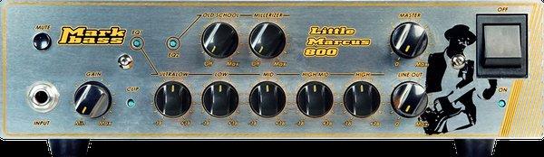Mark Bass 《マークベース》 LITTLE MARCUS 800 【即納可能】 【数量限定 純正クリップチューナー(非売品)プレゼント!】