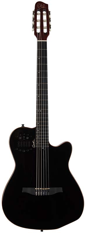 Godin 《ゴダン》 ACS Slim Nylon (Synth Access)Black 5年保証!
