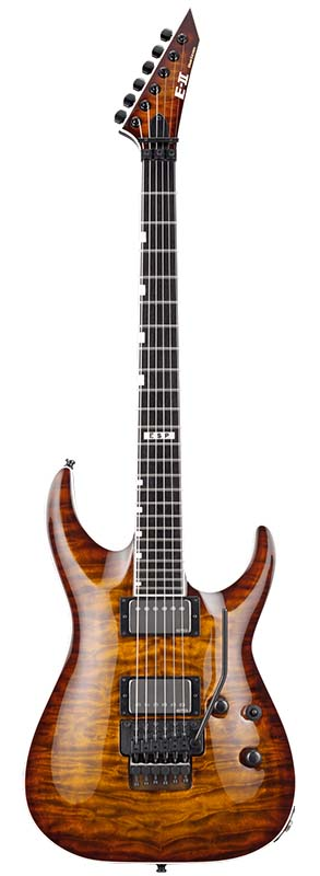 E-II HORIZON FR-II EMG (Tiger Eye Sunburst) 【即納可能】
