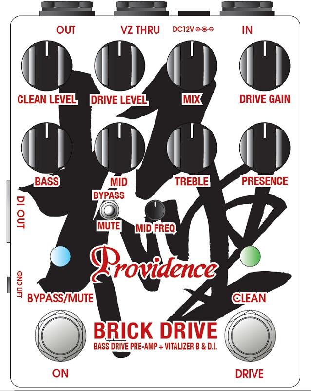 "Providence 《プロヴィデンス》 BRICK DRIVE BDI-1HH ""極"" 「Hidekazu Hinata Signature」 【即納可能】"