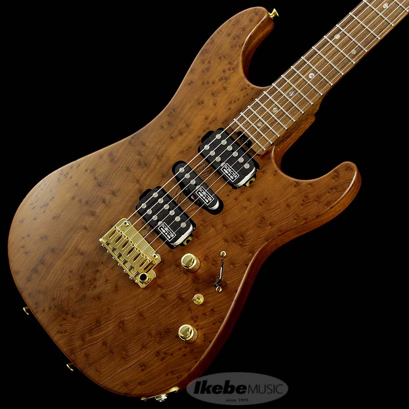 SCHECTER 《シェクター》 EX5B-24-CTM-VTR Redwood Burl Body Pau Ferro Neck
