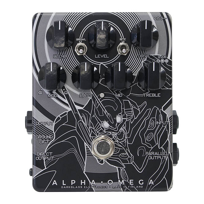 Darkglass Electronics《ダークグラス・エレクトロニクス》 Alpha Omega Japan Limited EVA初号機ver.