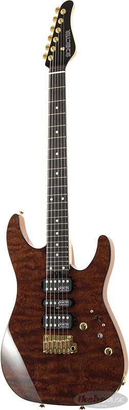 SCHECTER 《シェクター》 Limited Model NV-DX-24-MH-VTR/E (QUILTED BUBINGA)