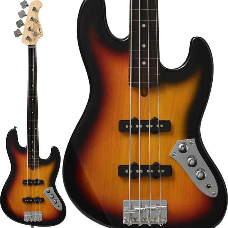 "Compact Bass コンパクトベース CJB-60s/FL ""フレットレス"" (3TS/R)"