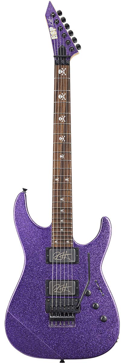 ESP Signature Series KIRK HAMMETT Model KH-2 Purple Sparkle 【即納可能】