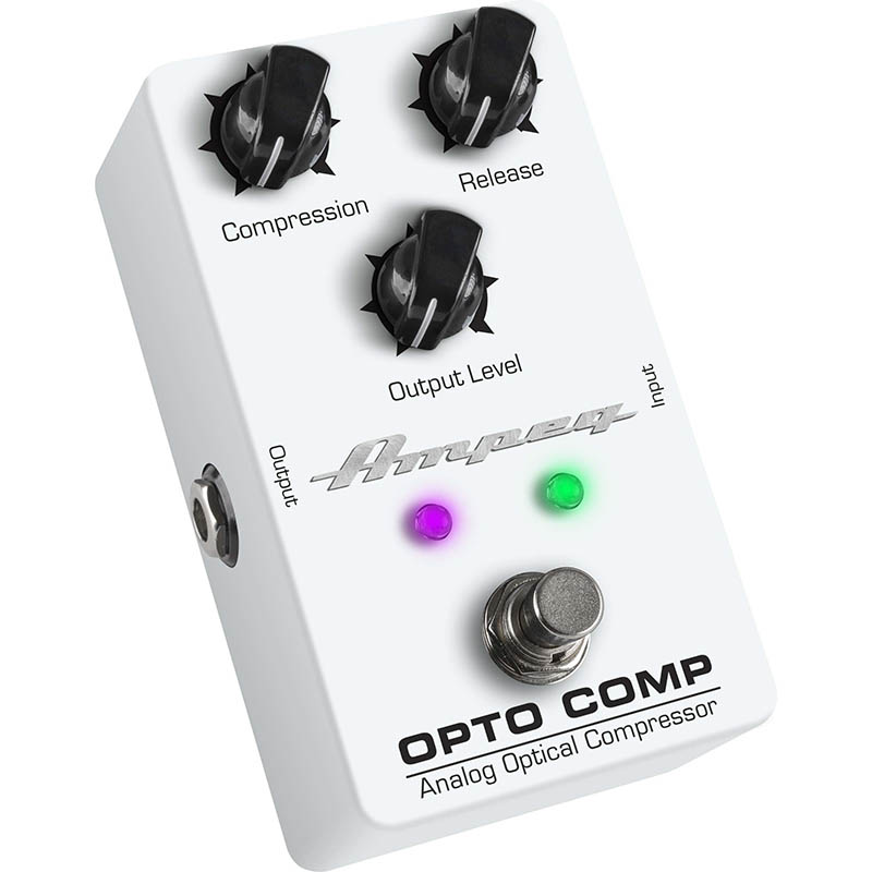 Ampeg 《アンペグ》Pedal Series Opto Comp Analog Optical Compressor