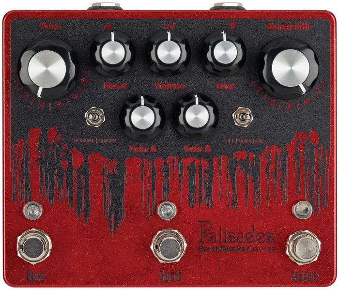 Earth Quaker Devices 《アースクエイカー デバイセス》 Palisades Metallic Red 【IKEBE ORDER COLOR】