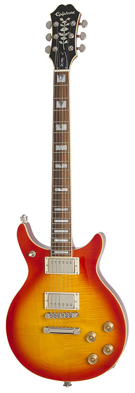 Epiphone by Gibson 《エピフォン》 Double Cut PRO (Faded Cherry Burst)【数量限定エピフォン・アクセサリーパック・プレゼント】