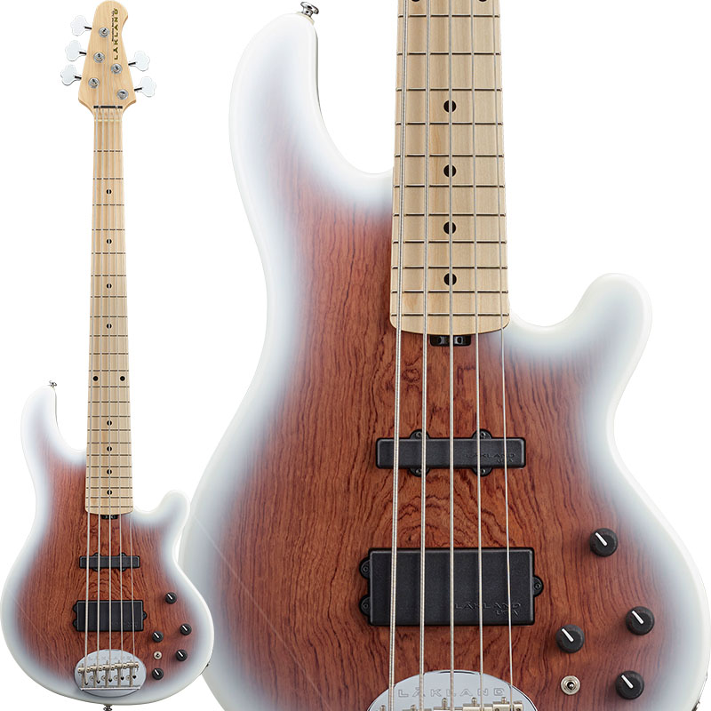 LAKLAND 《レイクランド》 Shoreline Series SL55-94 Deluxe Bubinga (Snow White Sunburst/M) 【納期未定(別途ご連絡)】