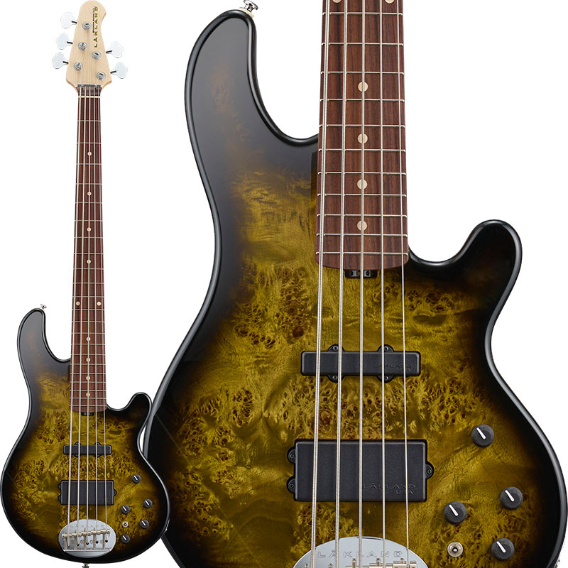 LAKLAND 《レイクランド》 Shoreline Series SL55-94 Deluxe Poplar Burl (Dark Oak Green Sunburst/R) 【5月入荷予定】